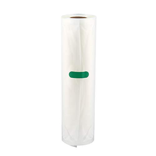 Bolsa de envasado al vacío de alimentos para el hogar para alimentos al vacío Bolsa de carga larga de mantenimiento fresco 12/15/20/25 / 28Cm * 500Cm 1 rollo - Transparente