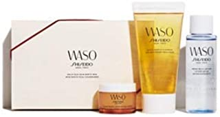 WASO(ワソウ) デリシャス スキン ボックス(洗顔・メーク落としと、化粧水、クリームミニサイズ)