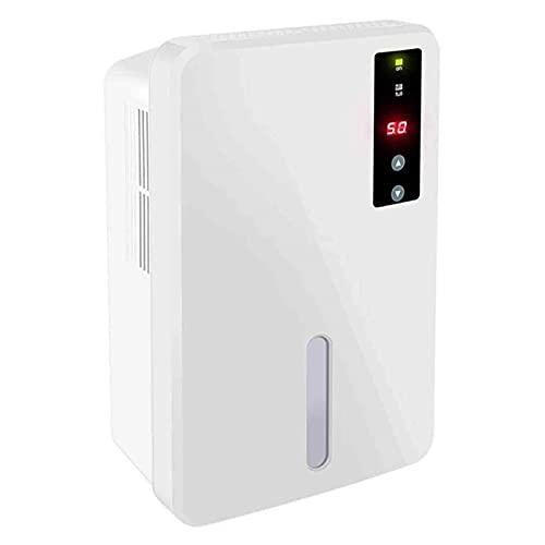 Deumidificatore compatto portatile 1.5L, controllo automatico humidistat, adatto per il bagno Armadio per la casa scantinati, ideale per umidità e condensa