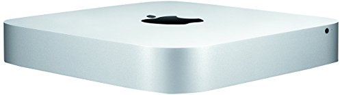 Apple Mac mini, 2.6GHz Intel Core i5 Dual Core, 8GB RAM, 1TB HDD, Mac OS, Silver, MGEN2LL/A (Newest Version) (Renewed)