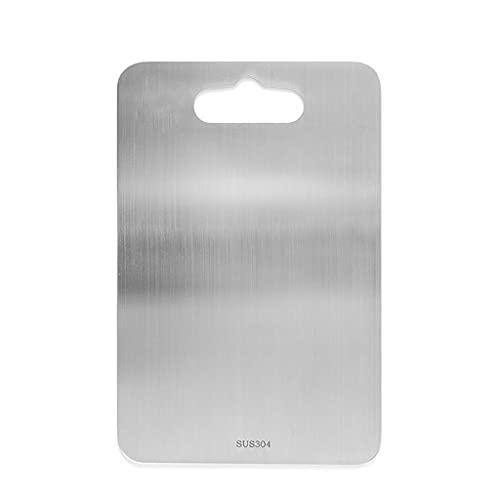 tabla de cortar SUS 304 Juntas de corte de acero inoxidable for la cocina, tabla de cortar Multi Purpose Tabla de cortar portátil del bloque de carnicero pesados tablones cortados cocina