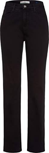 BRAX Carola Blue Planet Five Pocket Feminine Fit Klassisch Jean Bootcut, Noir (Clean Black 2), 40 (Taille Fabricant: 38K) Femme