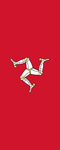 magFlags Bandera Isla de Man | Bandera Vertical | 3.5m² | 300x120cm