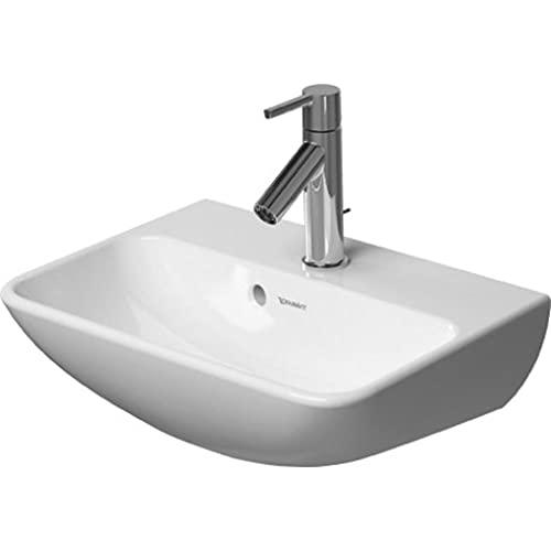 Duravit Handwaschbecken ME by Starck 450 mm, HL-Vorstich, weiß, 0719450010