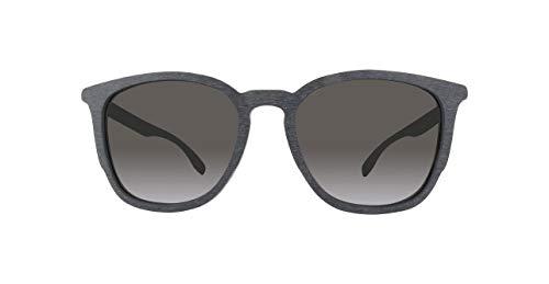 BOSS ORANGE BO0300S-003IR-53 Boss Orange Sonnenbrille BO0300S-003IR-53 Wayfarer Sonnenbrille 52, Schwarz