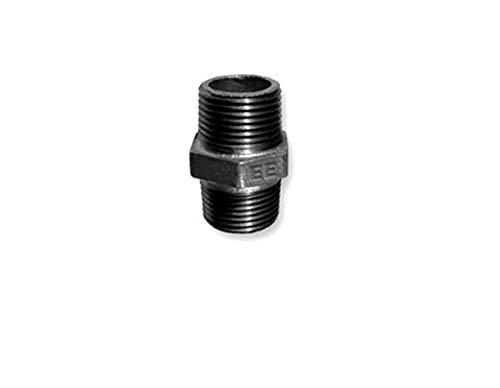 Racor doble de hierro maleable de 3/4 pulgadas, nº 280 ISO/EN N8,...