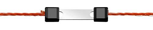 AKO Litzenverbinder Litzclip® 3mm - Edelstahl, 10 Stück - Schnelle und einfache Verbindung von Zwei Litzen - Robust und sicher