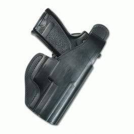 cuchilleria deportiva PIELCU 60106. Funda Pistola de Cuero. Negra. Válida para Modelo Beretta 92FS. Sistema Cierre de Broche. Herramienta para Caza, Pesca, Camping, Outdoor, Supervivencia y Bushcraft