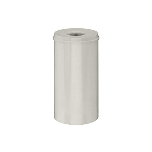 V-Part Selbstlöschender Papierkorb 50 Liter, weiß