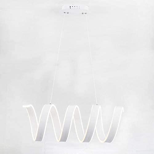 TIANYOU Forma de Hierro Artesanía Lámpara Moderna Minimalista Personalidad Led de Araña Oficina Chandelier Estudio Lámpara Estudio Iluminación Pintura Lámpara de Silicona durable