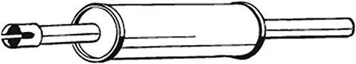 Vorschalldämpfer (1220-3095) Dämpfer Abgasanlage Auspufftopf