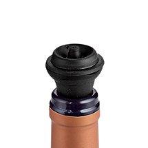 The Original United Wine Saver Pump Preserver with 4 Vacuum Bottle Stoppers - Black (Black Original)