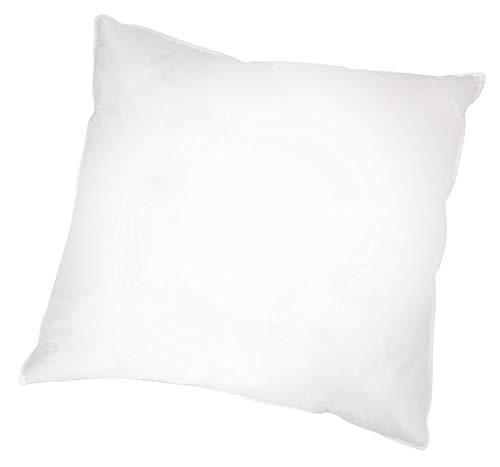 ZOLLNER Kopfkissen in Hotelqualität, 80x80 cm, Daunen und Federn, weiß