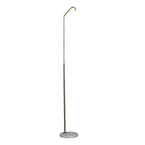 Marmeren Vloer Lamp, Gouden 24 Watt Tri-Color Verstelbare Lamp Post Voor Sofa Woonkamer Slaapkamer Nachtkastje Verticale Tafellamp
