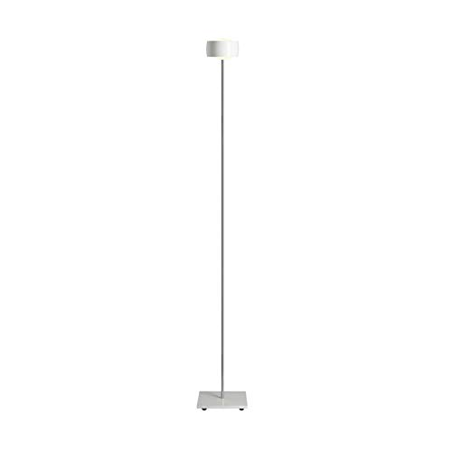 Oligo Grace Stehleuchte LED mit Gestensteuerung, weiß glänzend