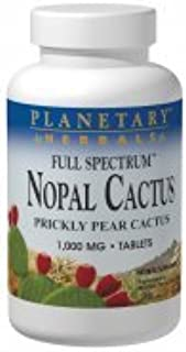 FS Nopal Cactus 1000MG Planetary Herbals 120 Tabs