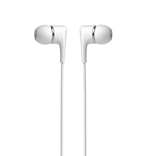C63 White 3.5MM Earbud Earphones for Apple IPAD AIR/IPAD Mini