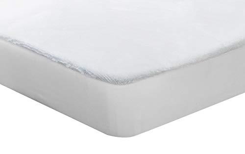 Pikolin Home - Protector de colchón de coralina, impermeable y transpirable, 150x190/200cm-Cama 150 (Todas las medidas)