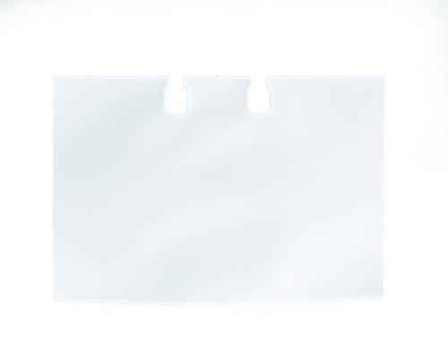 DURABLE Hunke & Jochheim Visitenkarten-Ersatzhüllen VISIFIX® FLIP/DESK, PVC, 104 x 72, transparent