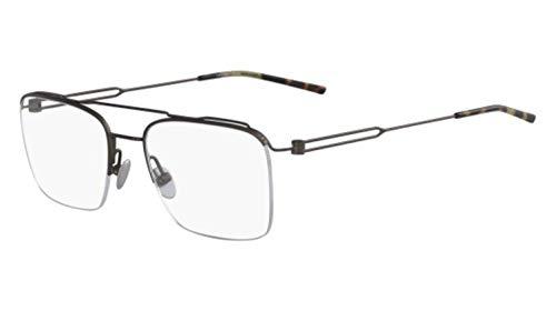 Calvin Klein 205W39nyc Ck8062 223 53 Monturas de gafas, Matte Brown, Hombre