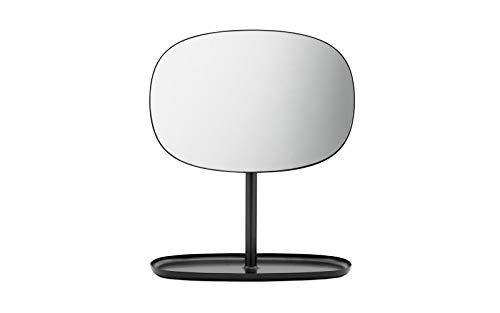 Normann Copenhagen spiegel, staal, zwart, 28 x 19,5 x 34,5 cm