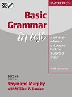 Basic Grammar in Use With answers and Audio CD: Self-study Reference and Practice for Students of English (Grammar in Use Series)