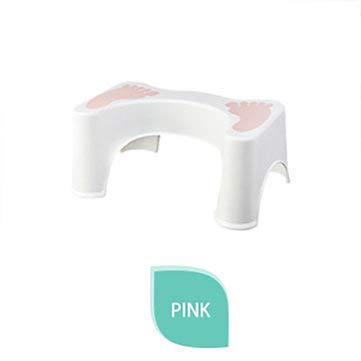 DyNamic 44X27.5X20Cm Plastic Opvouwbare Toiletkruk Antislip Voeten Douchestoel Voor Badkamer - Roze