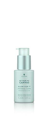 Alterna My Hair My Canvas Glow For It Universal Gloss, 2.5 Fl Oz | Vegan | Helps Recondition & Seal Hair, Controls Frizz | Sulfate Free