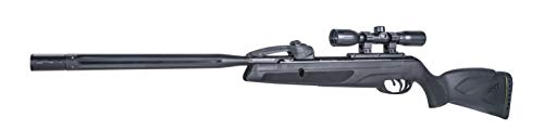 Gamo 611006875554 Swarm Whisper Air Rifle, .22 Caliber,Black