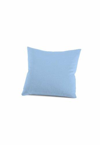 schlafgut 033-502 Mako Jersey Kissenbezug / 40 x 40 cm, Ice