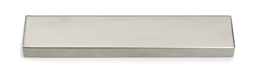 "RSVP International Stainless Steel Deluxe Magnetic Knife Bar, 10"", Satin Finish"