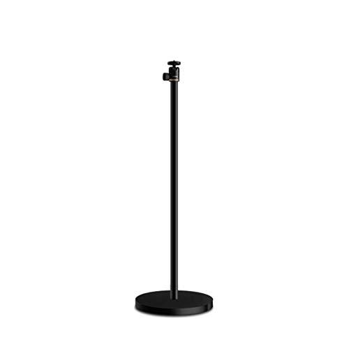 Inicio Soporte para proyector multifunción Soporte para proyector duradero Cabezal de cama micro de rotación libre 90 & deg;Movimiento telescópico universal oscilante, base redonda pesada de 3,0 kg,