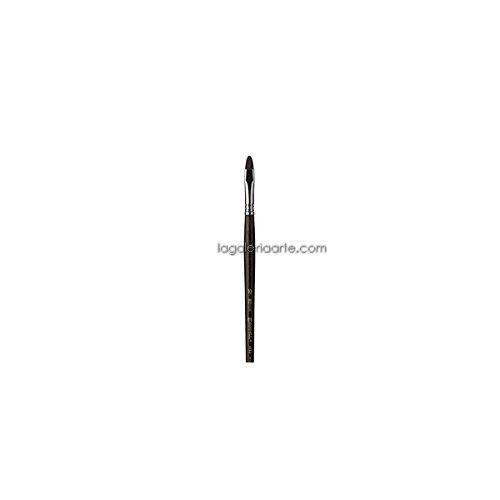 Pincel Escoda 4150 plano carrado Fibra Teijin nº4 m/c
