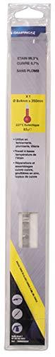 Campingaz - Alambre de estaño 99,3% / cobre 0,7% sin plomo, diámetro 8 mm, 65 g