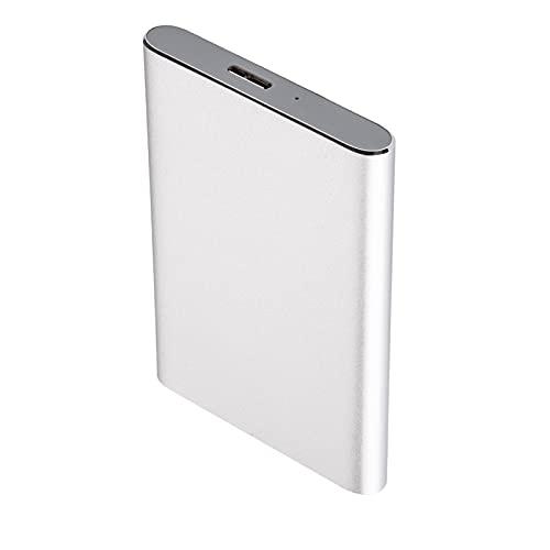prasku 2.5in USB 3.0 UASP SATA 4TB Adaptador de Caja de Disco Duro para Almacenamiento de Datos SSD Accesorios Profesionales - Plata