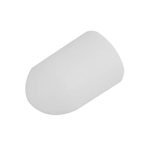 Centitenk Scooter de Pata de Cabra de Silicona Antideslizante Plantilla ortopédica de Soporte de Repuesto para M365 / M365PRO, Blanca