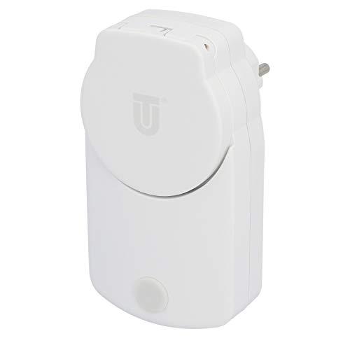 UNITEC WIFI Zwischenstecker Outdoor, WLAN Smart Steckdose, mit Timer und Zeitschaltuhr, Sprachsteuerung und APP, Für Outdoor Einsatz, IP44