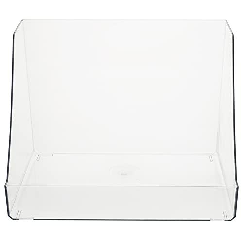 Minkissy Acrylique Organisateur De Bureau Porte- Stylo De Bureau De Stockage Caddy Cosmétique Maquillage Boîtes Accessoires De Bureau Cas De Stockage pour La Maison Bureau Clair