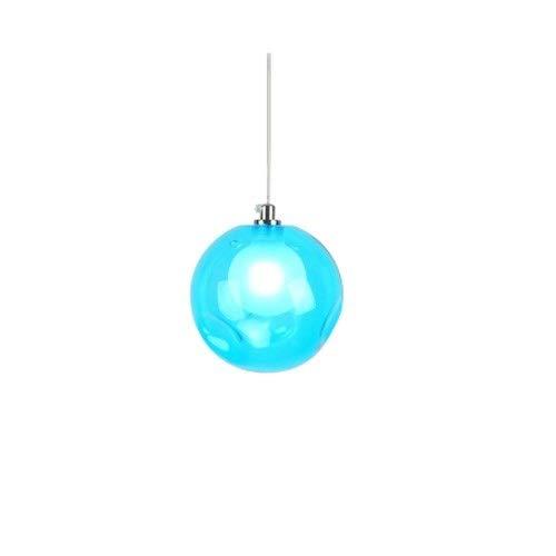 MAONB Amerikaanse moderne eenvoudige hanglampen creatieve woonkamer Cafe bar restaurant Hotel Home Villa decoratieve plafondlampen persoonlijkheid kleurrijke glazen bol G4 kroonluchter blauw