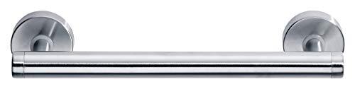 Tesa draad Haltegriff (Edelstahl, inkl. Klebelösung, belastbar bis 20kg/Adapter (kurzfristig bis 120kg), 60mm x 317mm x 75mm)