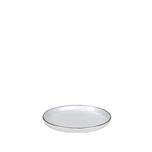 Lambert Piana Teller WEIß Rand GRAU D 21,5 cm Highlight 2020 60020061