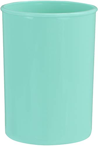Reston Lloyd Plastic Holder Utensil Jar, Seafoam