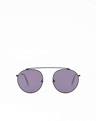 Gafas de sol modelo de aviador Hills Black para hombre y mujer.