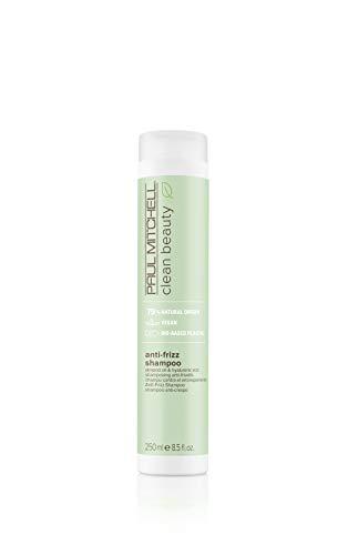 Paul Mitchell Clean Beauty Smooth Anti-Frizz Shampoo – Vegane Haar-Wäsche Für Geschädigtes Haar, Haarpflege Mit Mandel-Öl – 250ml