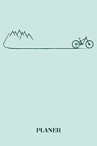 Planer: Mountainbike Fahrrad Outdoor Kalender Organizer Terminplaner Terminkalender Wochenkalender - Geschenk für Mountainbiker Radsportler ... - A5 Softcover 52 Wochen auf 120 Seiten