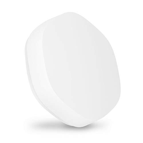 LOOCOO Interruptor inalámbrico inteligente Tuya, interruptor inteligente, control inalámbrico multiescena, interruptor inteligente Zigbee, adecuado para el hogar, la oficina
