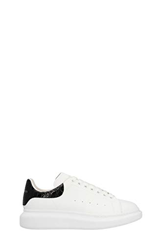 Alexander McQueen Luxury Fashion Herren 625162WHYB89061 Weiss Leder Sneakers | Herbst Winter 20