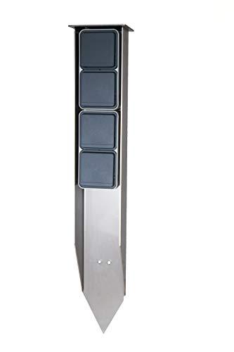 Jehoka E-Spieß 600 ausgestattet mit Berker 4 Steckdosen