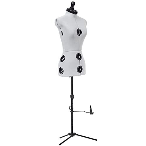 Dritz Twin-Fit-Petite Dress Form, Grey