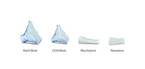 21rL7z0OyNS. SL500  - Omron Nebulizador Easy X101 con aerosol, trata condiciones respiratorias como el asma, la bronquitis, la alergia, la tos y los resfriados con facilidad, para adultos y niños